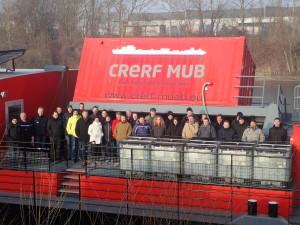 Les sapeurs-pompiers d'Europa Park en visite au CRERF